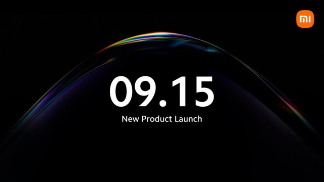 Xiaomi schedules a new product launch for September 15, keeps mum on what it is