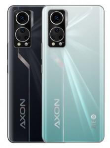 ZTE Axon 30 5G in: Aqua and Black