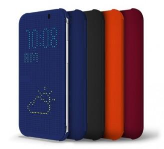 Estojo DotView para HTC One (M8)