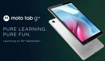 Moto Tab G20 key features