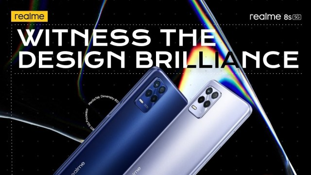 Realme 8s 5G color options officially confirmed ahead of September 9 unveiling