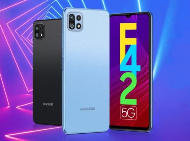 Samsung Galaxy F42 5G arrives with familiar specs