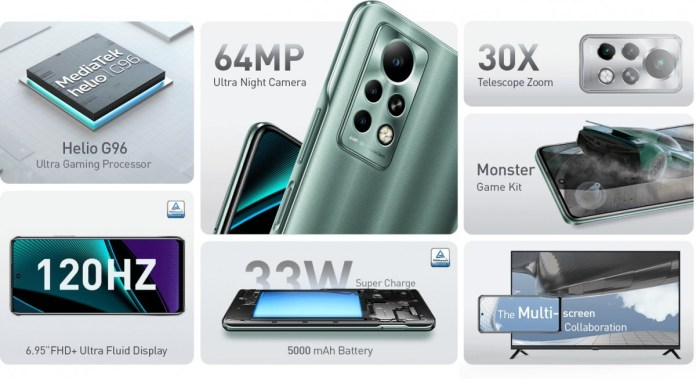 Infinix Note 11 series unveiled: the Pro model has a 6.95'' 120Hz screen, 13MP tele camera