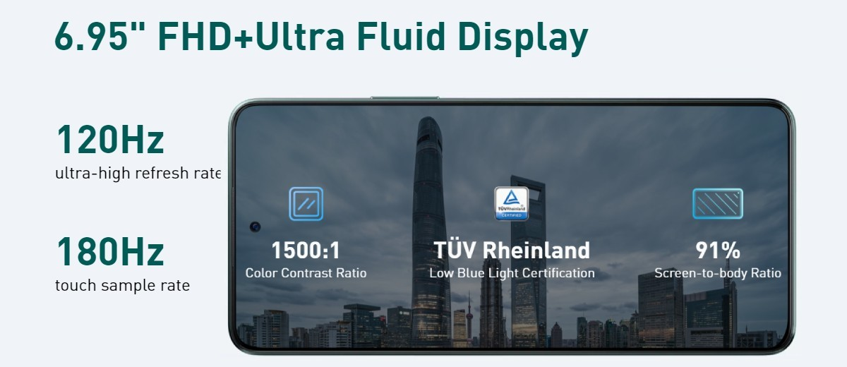 Seri Infinix Note 11 diluncurkan: model Pro memiliki layar 6,95 inci 120Hz, kamera tele 13MP