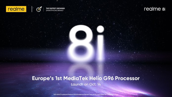 Realme will bring the 8i in Europe this month