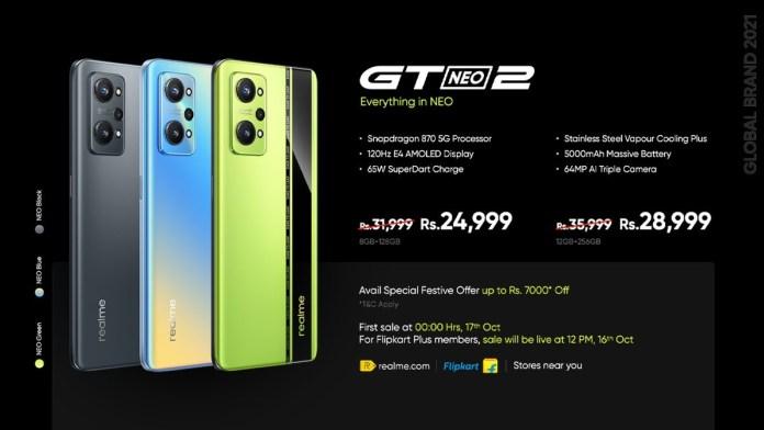 Realme GT Neo2 120Hz डिस्प्ले और स्नैपड्रैगन 870 के साथ वैश्विक हो गया, AIoT लाइफस्टाइल उत्पादों से जुड़ गया