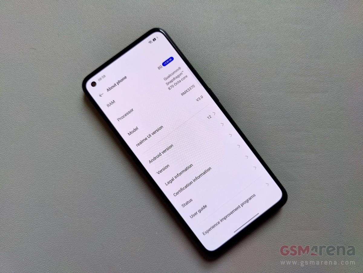 Realme UI 3.0 dengan Android 12 hadir pada 13 Oktober, Realme GT pertama yang mendapatkannya