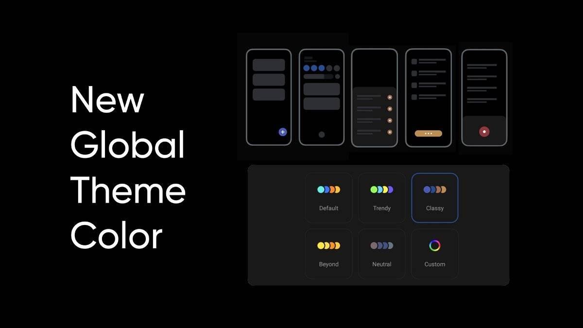 RealmeUI 3.0 didasarkan pada Android 12, beta pertama yang hadir di lini GT pada bulan Oktober