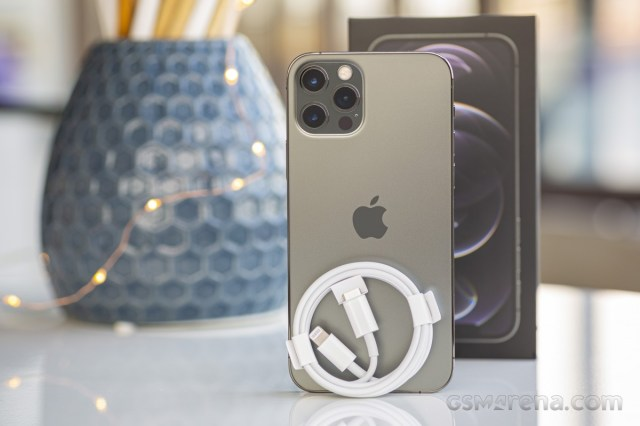 Charging The iPhone 12 Pro review