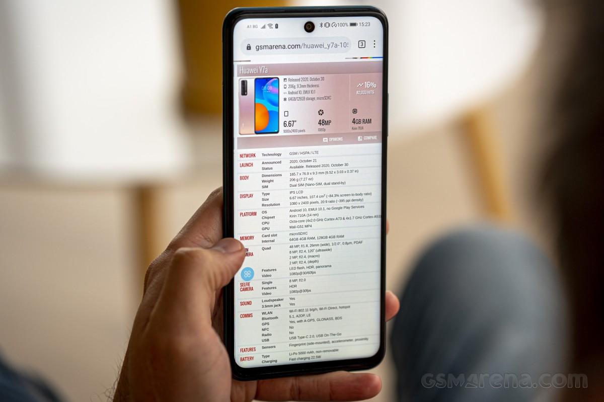 Ulasan Huawei P smart 2021