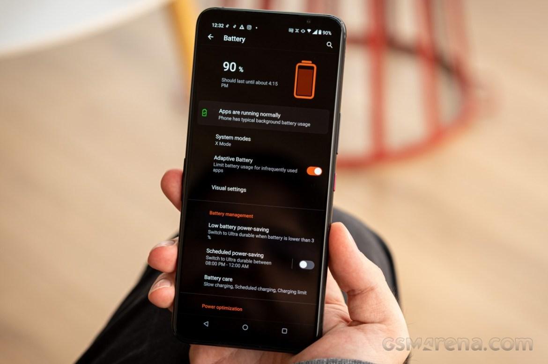 Asus ROG Phone 5, longest battery life