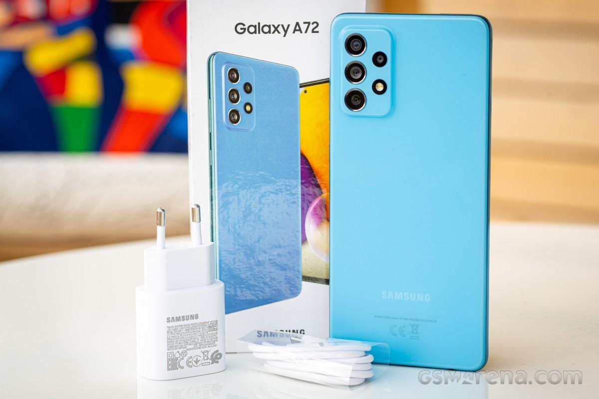Ulasan Samsung Galaxy A72