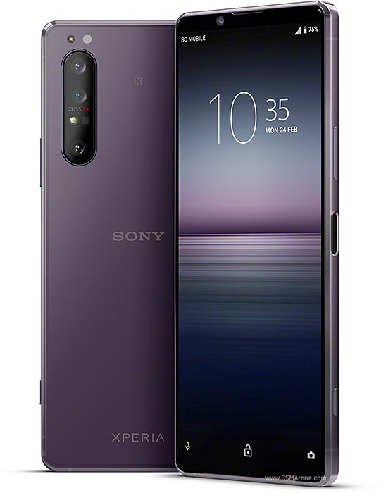 Sony Xperia 1 II pictures, official photos