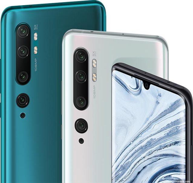 Xiaomi Mi Note 10 Pro pictures, official photos