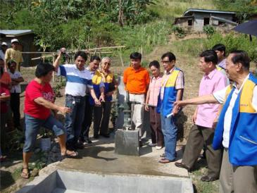 Inaugurating new water well - Iligan City, Mindanao, Philippines