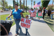 Protest photo in Arizona