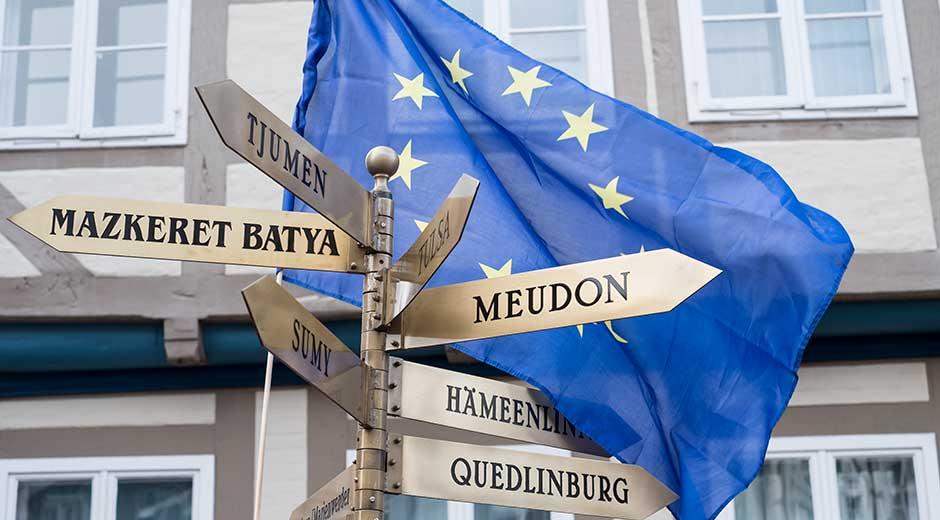 Erhebt die Stimme gerade jetzt für Europa