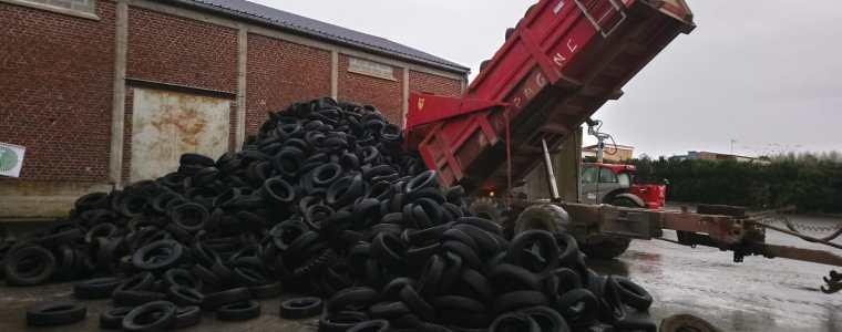 collecte pneus