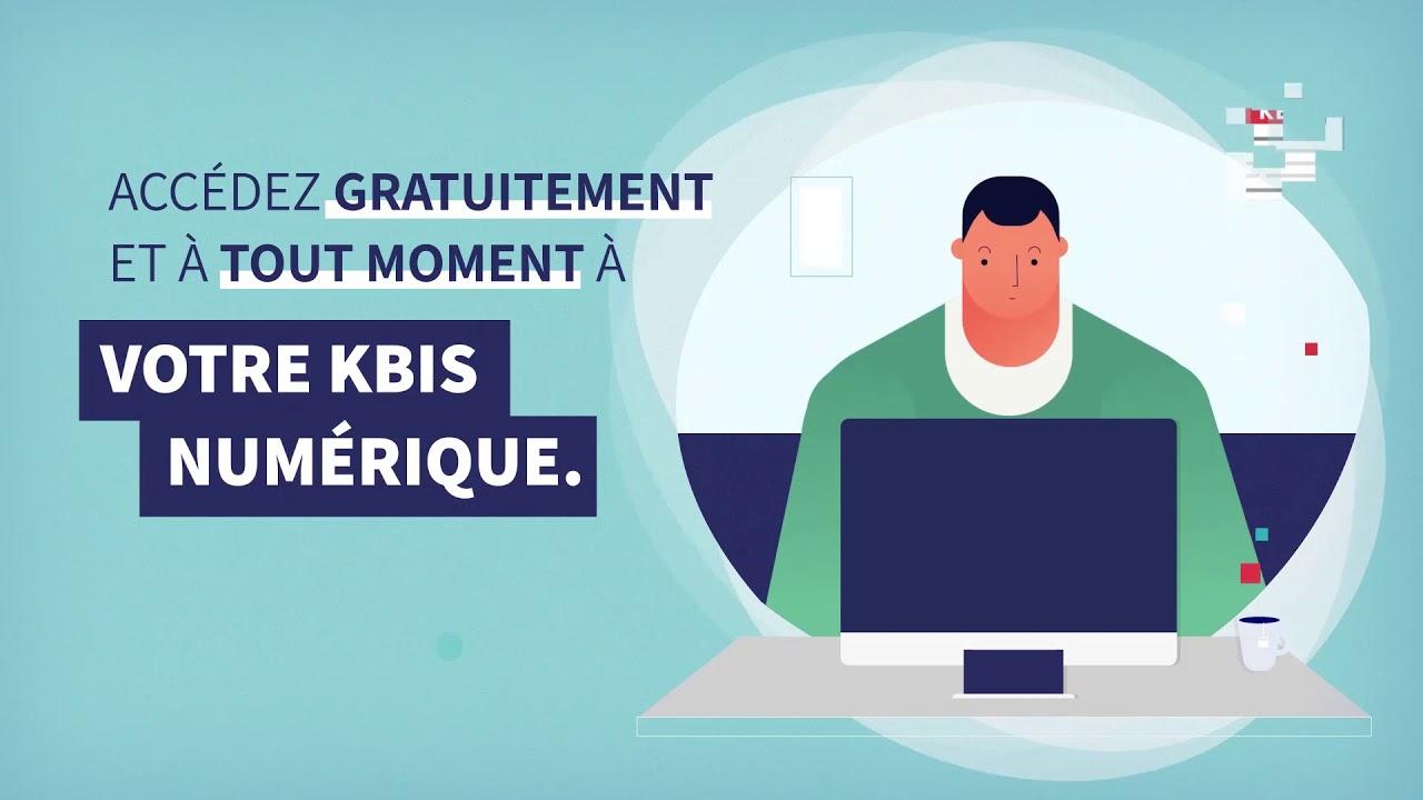 Obtenir gratuitement son Kbis
