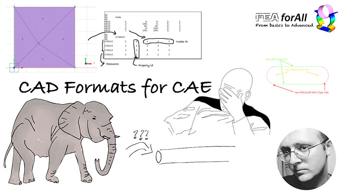 CAD formats: Which one is the best for CAE?