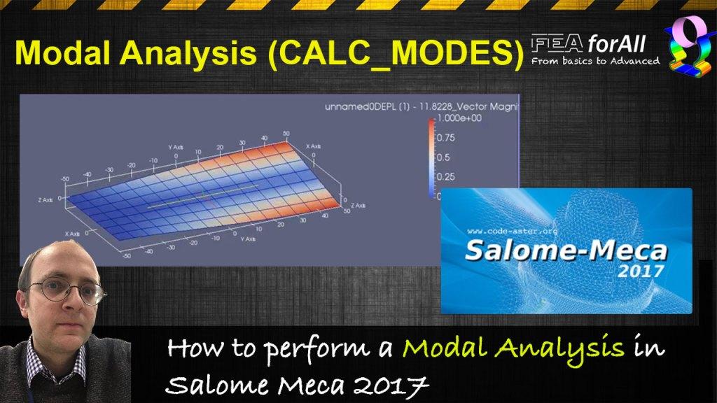 [Salome-Meca Tutorial] How to perform a modal analysis?