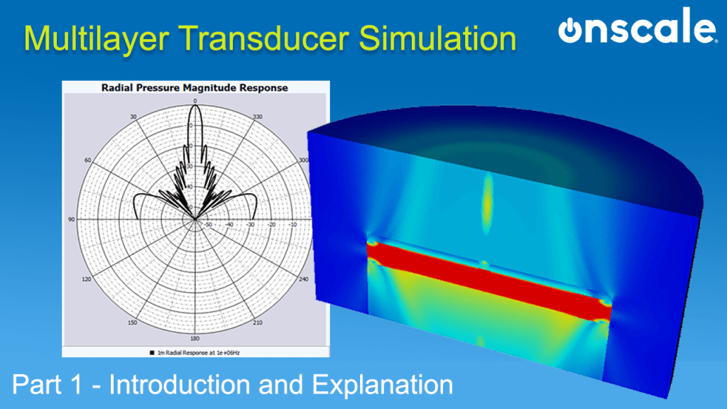 Multi-layer Transducer Simulation with OnScale