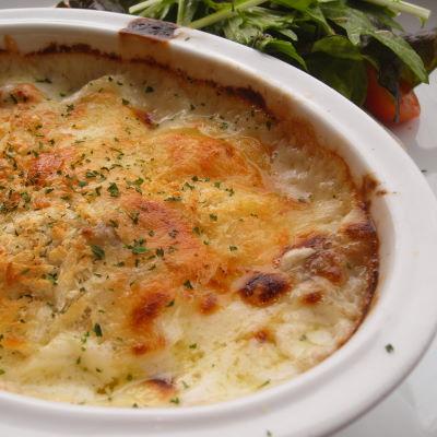 チキンと白菜のグラタン