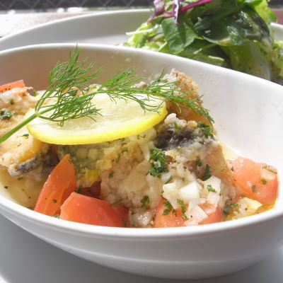 白身魚のエスカベージュ