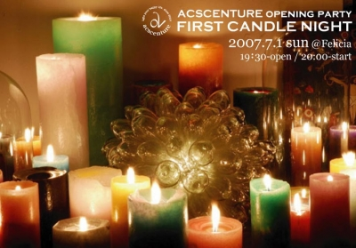FIRST CANDLE NIGHT – ACSCENTURE OPENING PARTY –