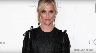 Reese Witherspoon. Photo taken from video.