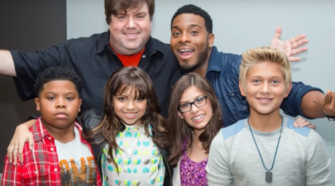 Dan Schneider, Nickelodeon producer, head of a pedophile ring? Photo captured from video.