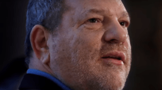 Harvey Weinstein. Photo captured from the video.
