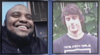 ISIS and Antifa Members sentance for terroristic threats. Photo taken from the video.