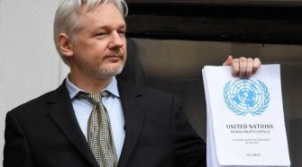 Jullian Assange. Photo by Gage Skidmore vis Video