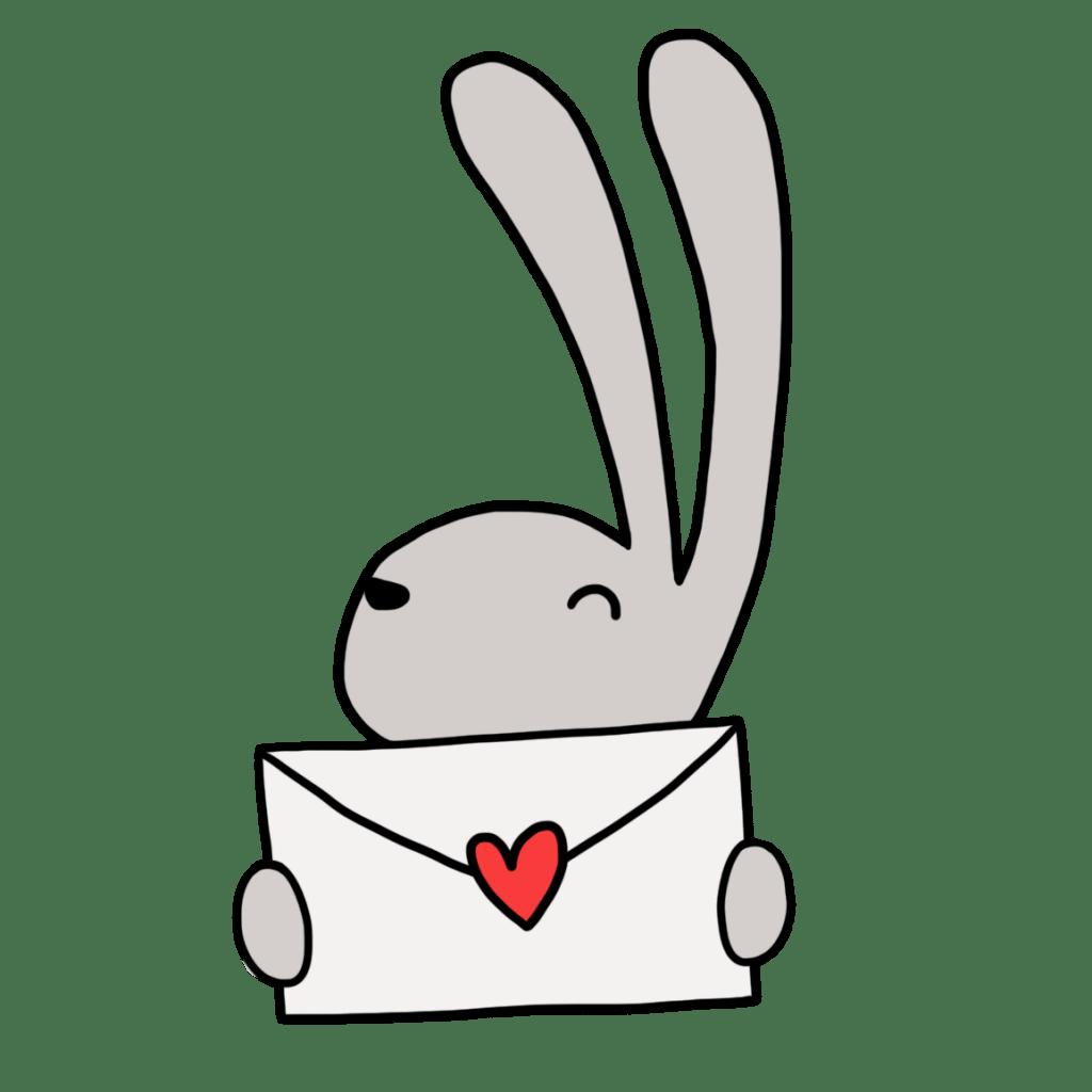 Briefpost van Hop