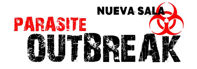 Parasite Outbreak logo black nueva sala