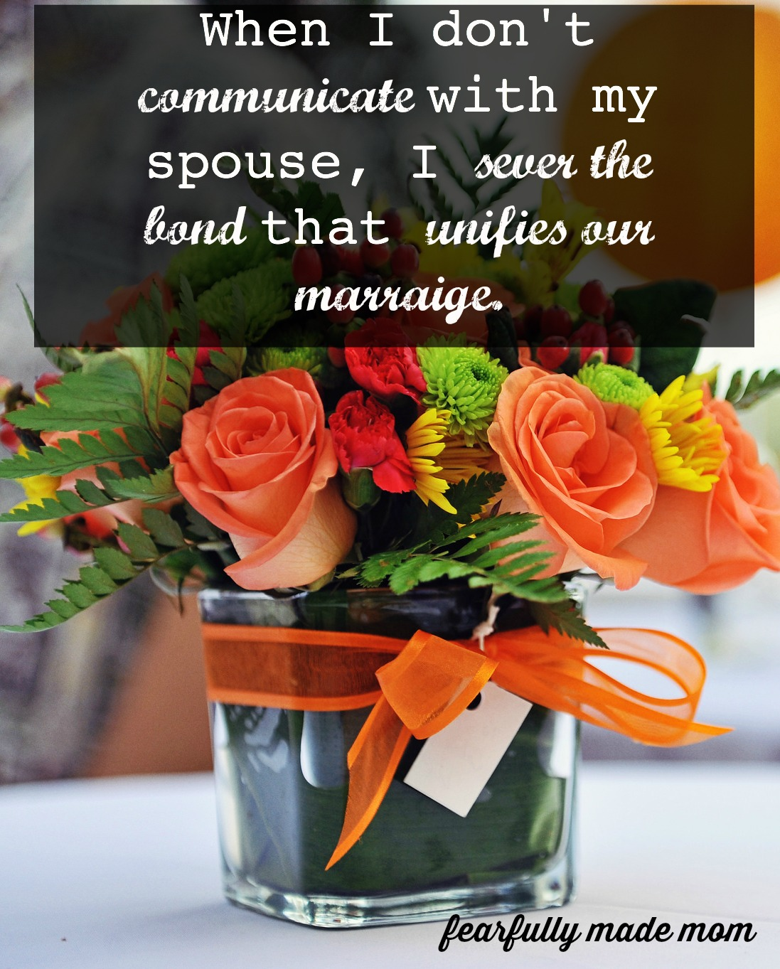 When Communication With Your Spouse Breaks Down