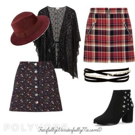 girly grunge fall fashion