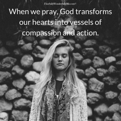 Prayer in compassion and action