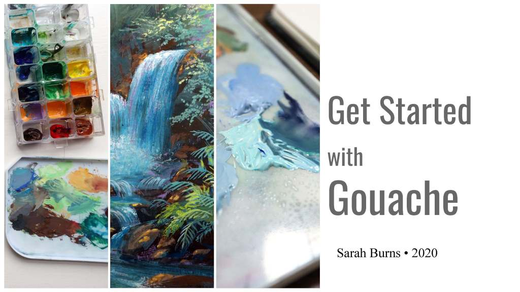Get started with gouache guide for beginners