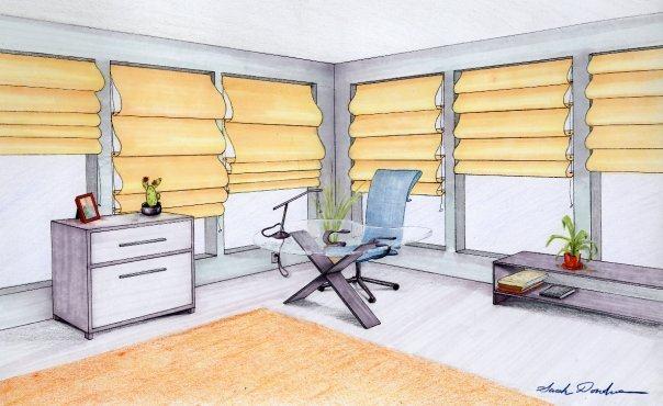 Office design project prisma pencils