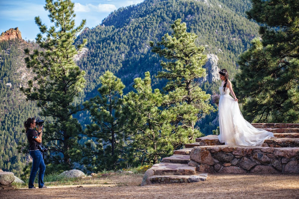 Sarah Rose Burns Photography bridal photos in Colorado