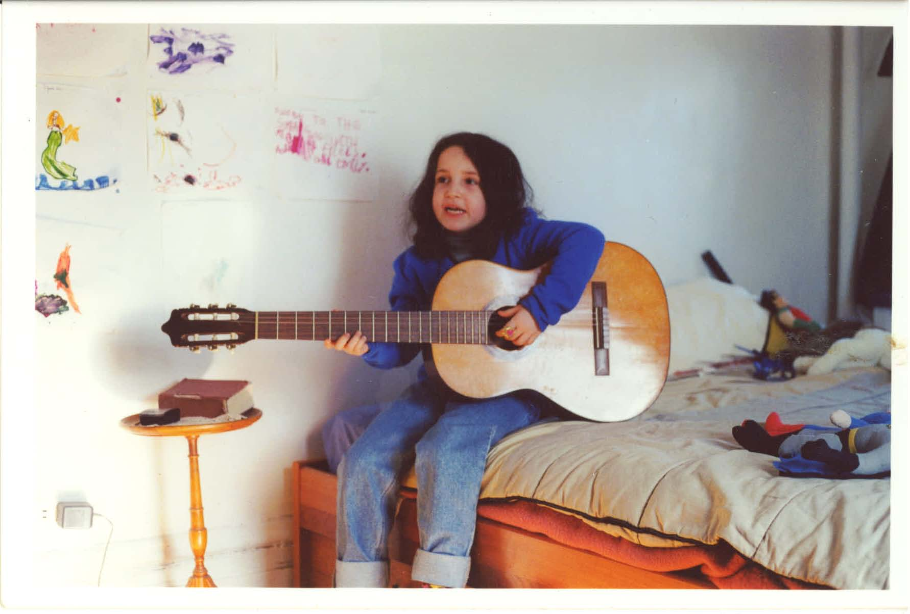 Camille at my place (2001)