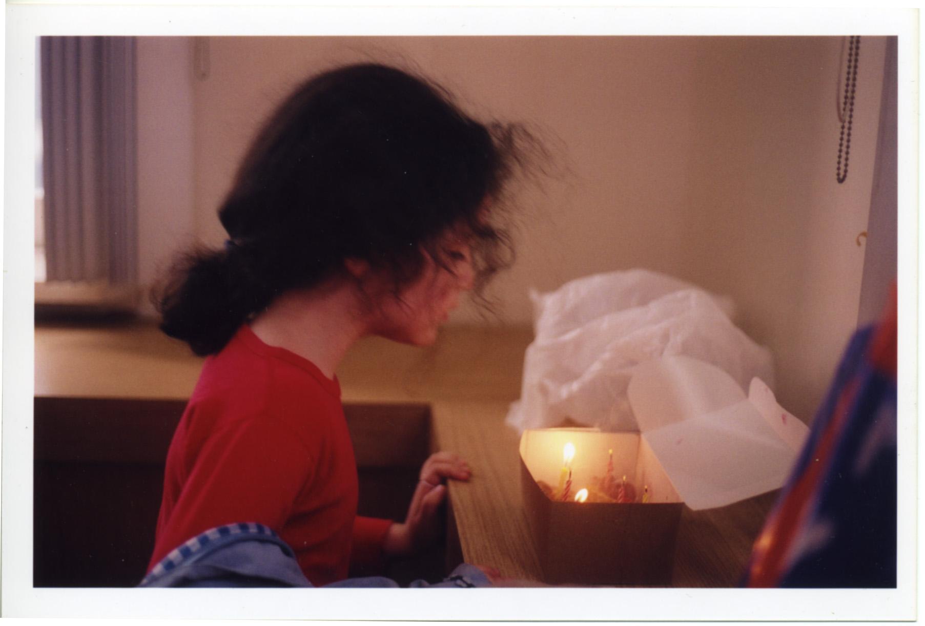 "Chloé's ""supervised"" birthday (2004)"