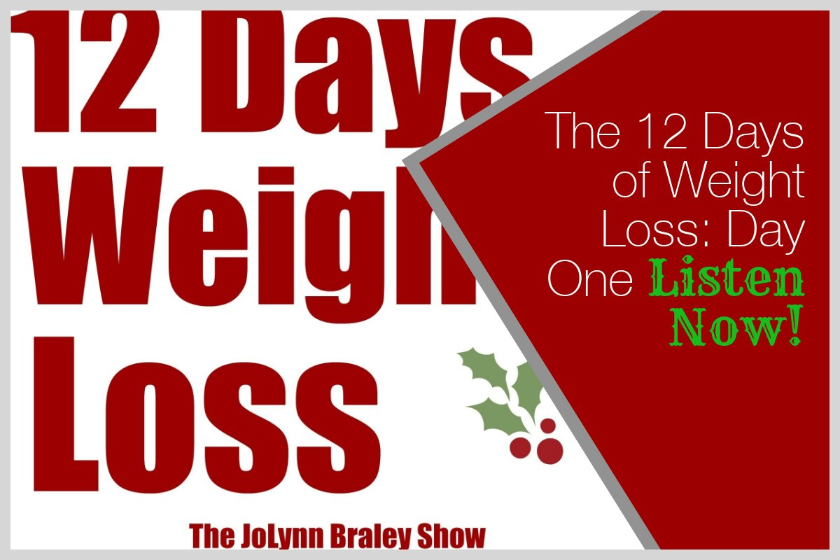 Weight Loss Motivation The 12 Days Of Weight Loss Day One