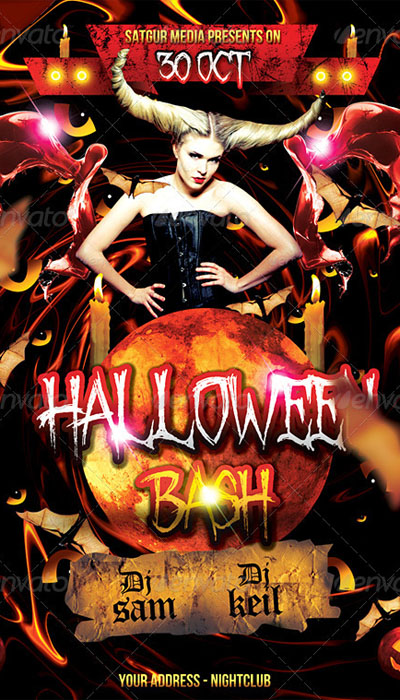 15 Halloween Flyer Designs For Your Next Party