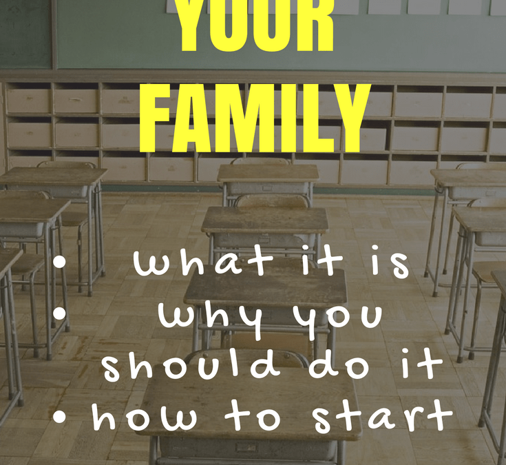 Deschooling your Family