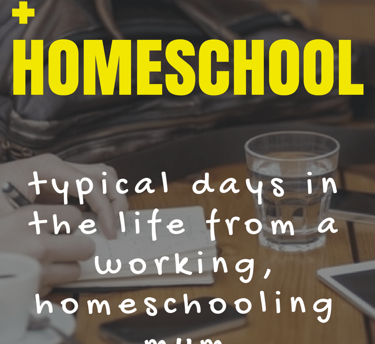 Working and Homeschooling? Yes, you can do it!