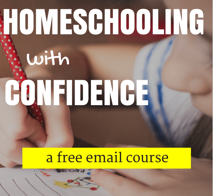 Begin Homeschooling with Confidence   A free email course!
