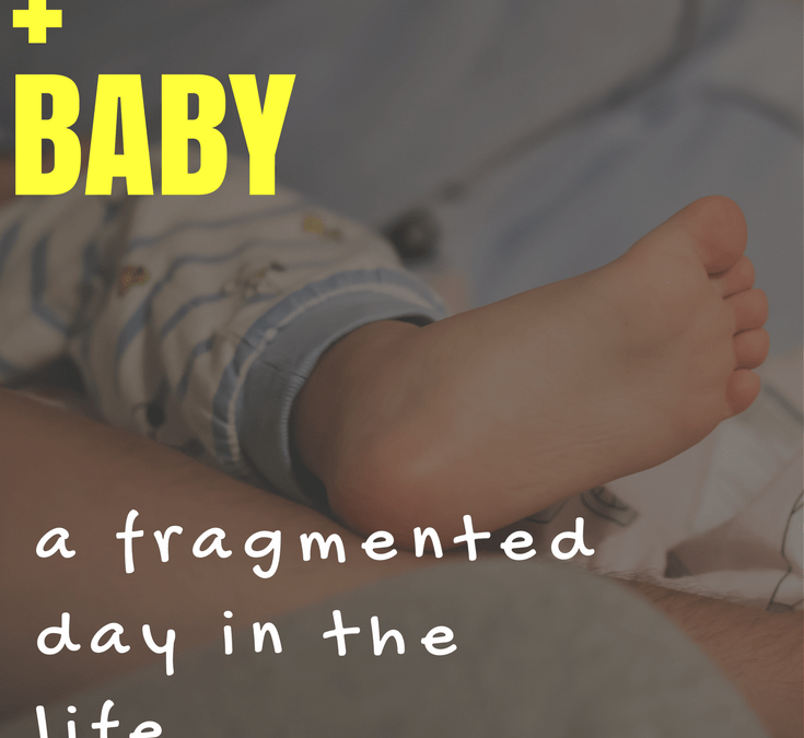 A homeschooling day in the life with a catnapping baby